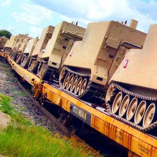 Tanks a lot. Transportation Railroad Track Rail Transportation Tanks Military Military Style Train Tanks, No Thanks