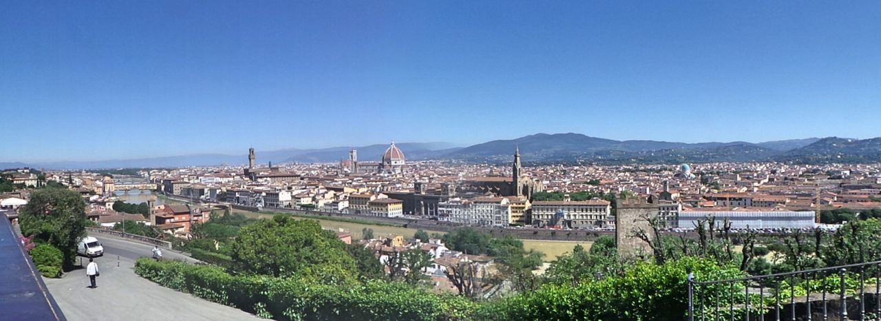 Architecture Blue Built Structure City City Life Cityscape Clear Sky Day Firenze Florence Florence Italy Hill Italy Landscape Mountain Mountain Range Nature Outdoors Panoramic Photography Toscana Toskana Toskana,italy Town TOWNSCAPE Travel Destinations