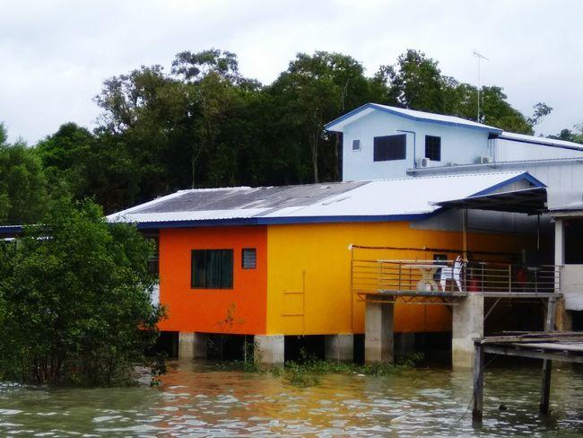 海上人家 Water Building Exterior Outdoors Architecture Tranquility