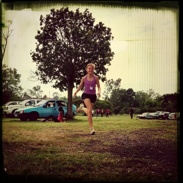 Sophie at her first Parkrun Dusi Parkrun