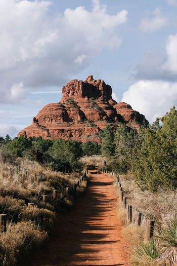 Arizona Desert National Park Red Rock Sedona Sedona, Arizona Ancient Civilization Architecture Beauty In Nature Cloud - Sky Day Landscape Nature No People Outdoors Scenics Sky The Way Forward Tranquil Scene Tranquility Travel Destinations