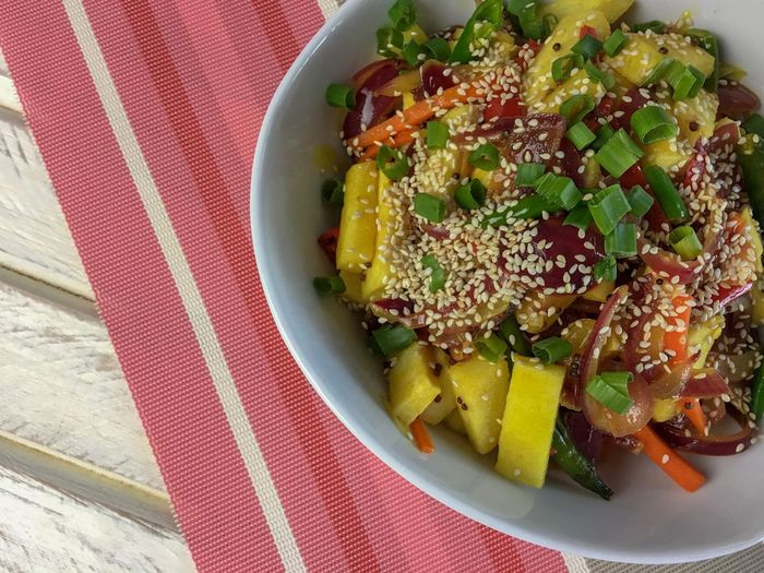 DeliciousFood  Delicious Thailand Malaysia Asian Foods Food Hotel Restaurant Mango Salad Manggo Salad Food Food And Drink Plate Healthy Eating Ready-to-eat Freshness No People Close-up