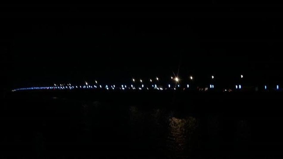 Vashi Bridge Night Lights Navimumbai