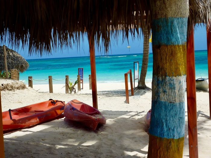 Beach Sea Sand Nature Tourist Resort Vacations Relaxation Tranquility