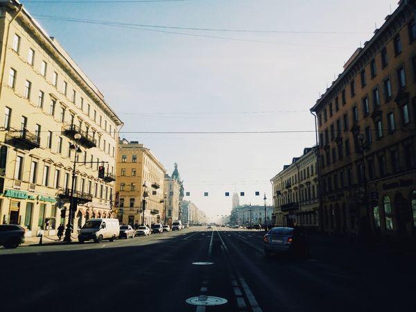 Spring Morning Sunshine Cityscapes