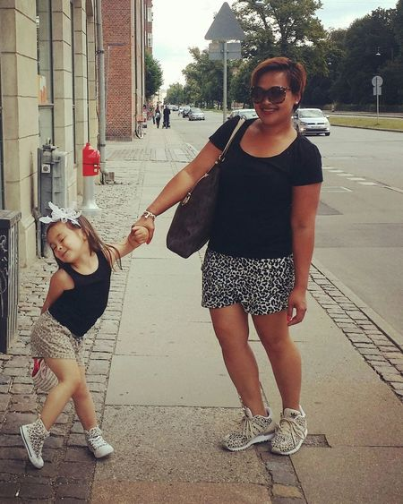 Mother & Daughter I Love Her <3 Me&my Mini-me