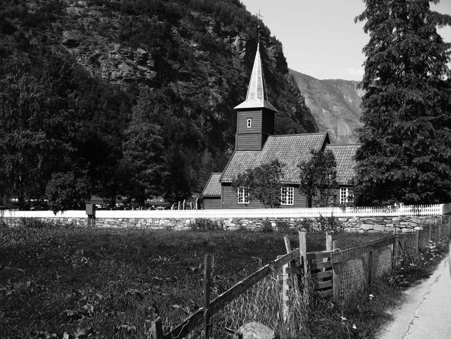 Norwegian church' Architecture Building Exterior Built Structure Church Church Exterior Close-up Day Mountain Nature No People Norway Outdoors Scenic Sky Tree
