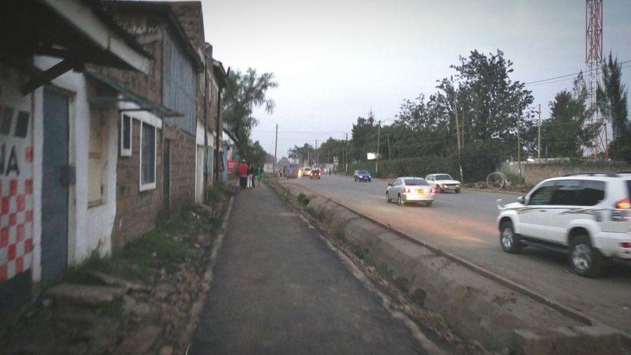Cities At Night NairobiKenya Buruburu