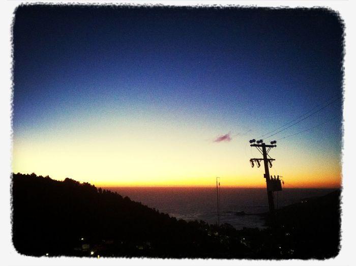 ? se nos va el sol ? Taking Photos Sunset Silhouettes