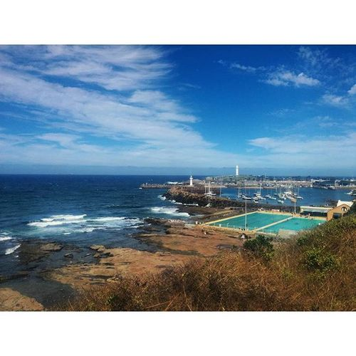 Wollongong bringing the goods 😍 Wollongong  Australia Nsw Ocean Oceanside Harbour Lighthouse Rockpool Continentalpool Beautiful Thegong Thisisuow Nature Blue Boats Visitwollongong