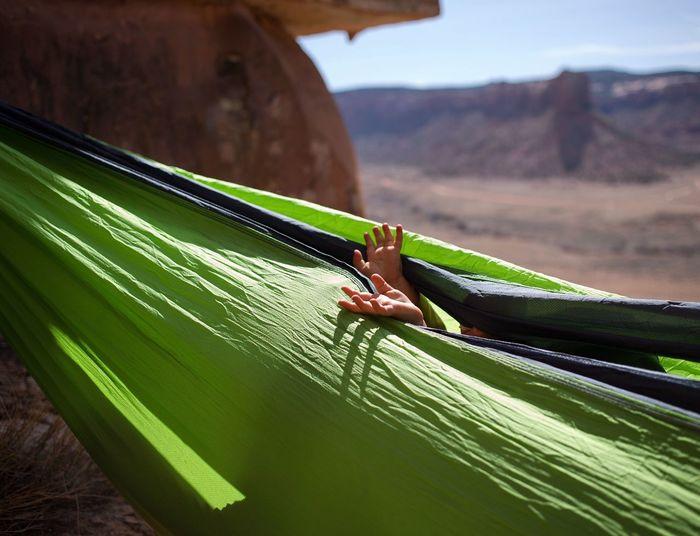 "Hammock nap time baby, Indian Creek, Utah"" Baby Toddler  Desert Sandstone Nap Hammock Kids Nature Day Sunlight Close-up EyeEmNewHere"