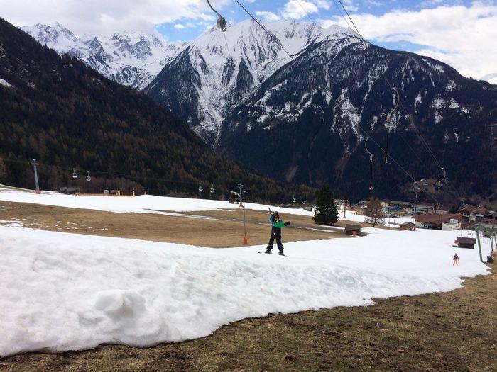 Skilift Ice Age