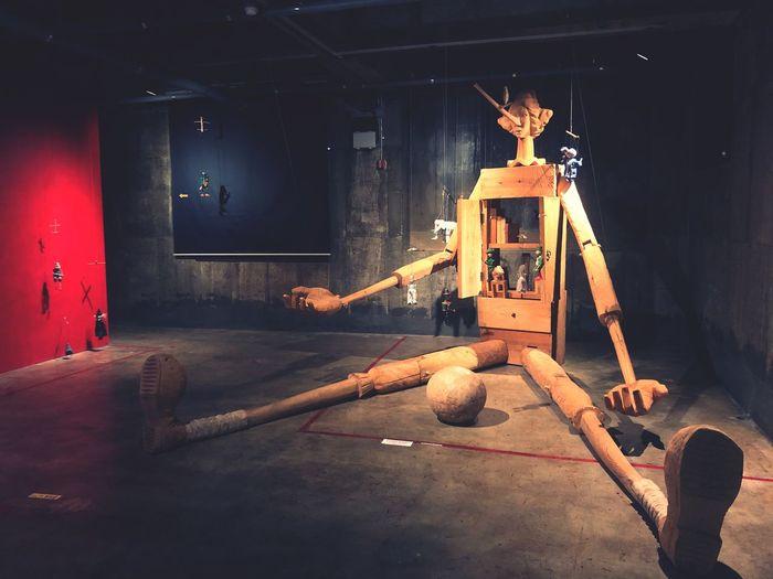 피노키오 Indoors  Table Wood - Material Work Tool Industry No People Day