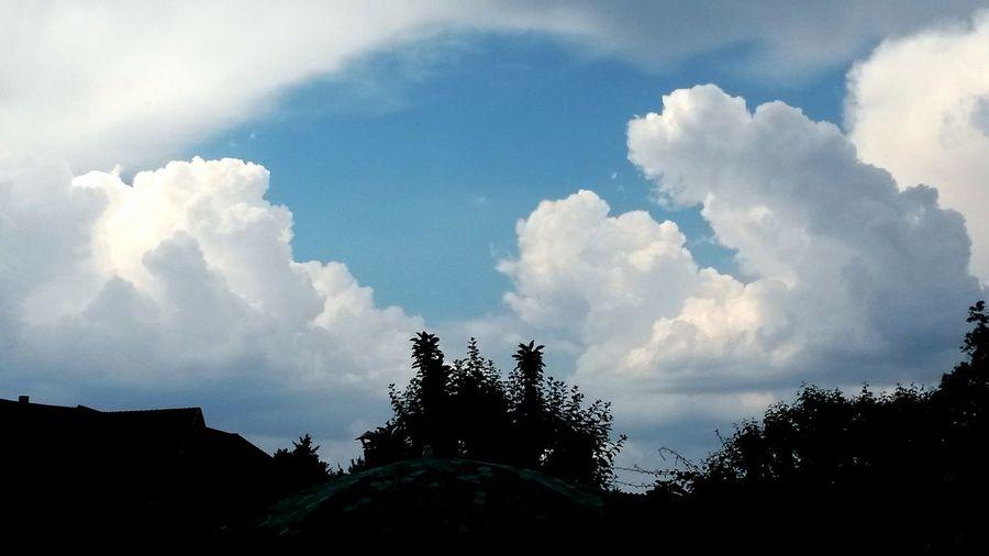 Wolken Natur Wetter Wolkenhimmel Himmel Und Wolken Himmel über Deutschland Wolkengebilde