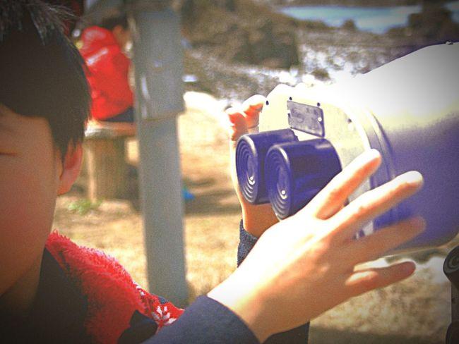 Japan 福井 双眼鏡 海 Sea