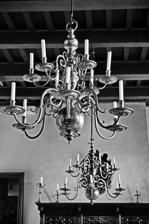 Art Black & White Black And White Candles Castle Interior Castles Chandeliers Decoration Design Dutch Heritage Eye4photography  EyeEm EyeEm Gallery Indoors  Interior Decorating Interior Design Lighting Equipment Low Angle View Monochrome Monochrome_life Muiderslot Nederland No People Ornate Still Life