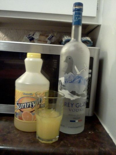 Didnt Have Anything Else So I Used Sunny D