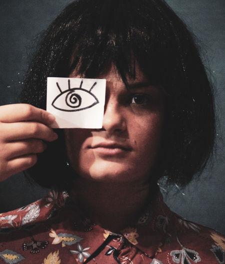 Eye Fake Eyes Portrait Studio Shot Looking At Camera Headshot Human Face Human Hand Human Eye Close-up My Best Photo