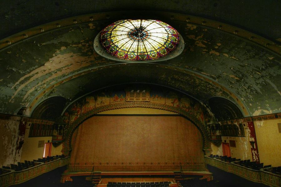 Abandoned temple theater EyeEm_abandonment EyeEm Best Shots Fuzed_fotos Abandoned Beauty Of Decay Architecture_collection Urban Exploration Streamzoofamily Urbex Architectureporn