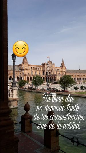 Text Communication Architecture Sky Cityscape LoveIt ❤️ Lovemylife😘 Emotions Great View Myobsession MyPassionInLife Mycapture MyPhotography👌🏼 History Travel Destinations MyCity❤️ Architecture Sevilla Spain Lovepic Myview City Lovemylife Lovewords