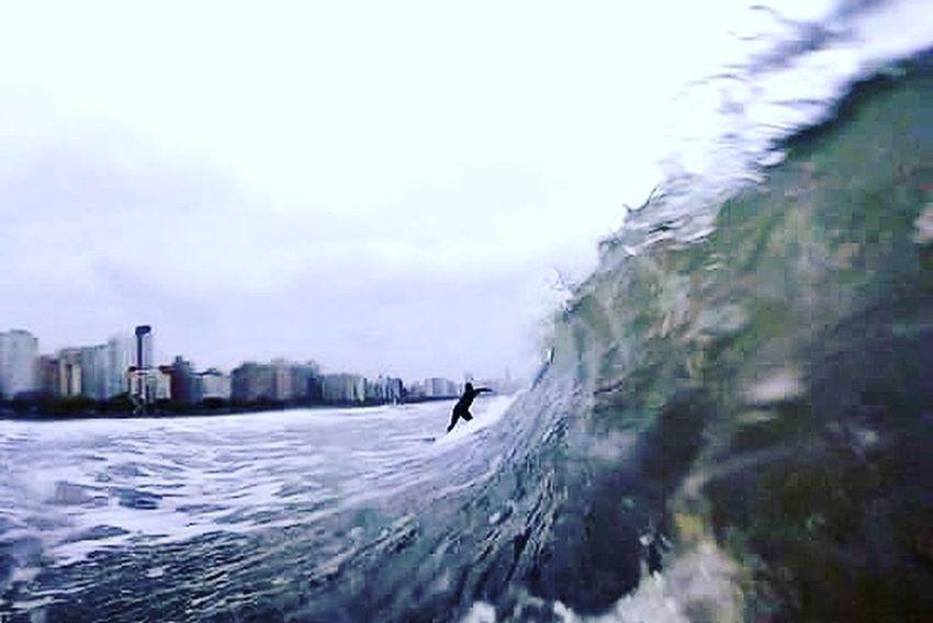 Water Sea Wave Fotografiaaquatica Santos Paradise Beach Blue Wave 18-030 Goprohero+lcd Gopro ILoveWater Waves Mahalo Aloha Surf's Up Surf Imuah430