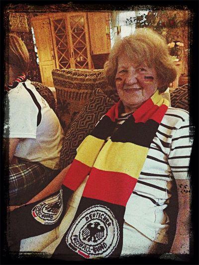 My Grandma ❤️???? Hello World Enjoying Life Fußball WM 2014 We Are Onefootball