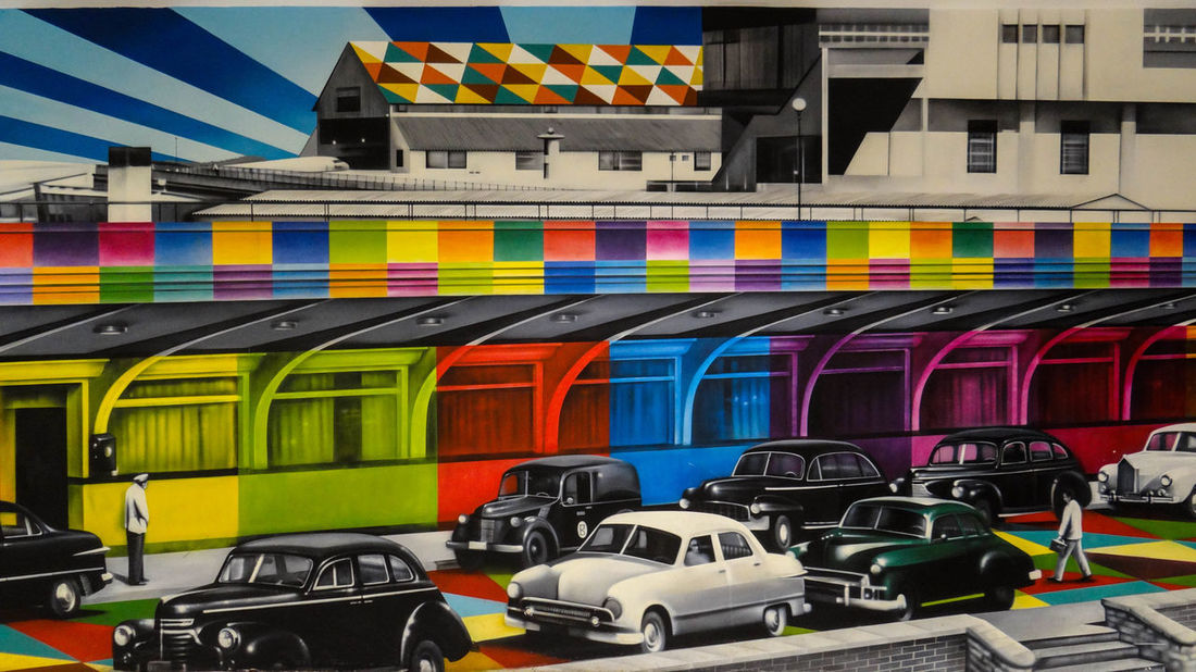 ezefer Congonhas The Graphic City Architecture Building Exterior Built Structure Car Day Land Vehicle Large Group Of Objects Mode Of Transport Multi Colored No People Outdoors Sport Transportation
