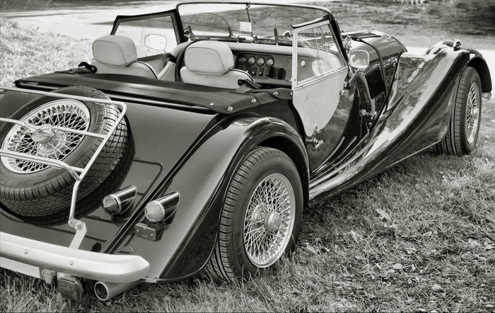 Oldtimer Auto Automobile Black & White Black And White Blackandwhite Blackandwhite Photography Bw Bw_collection Cabrio Car History Land Vehicle Mode Of Transport Monochromatic Monochrome Morgan Oldtimer Outdoors Parked Parking Transportation Vehicle Vintage Vintage Car Wheel