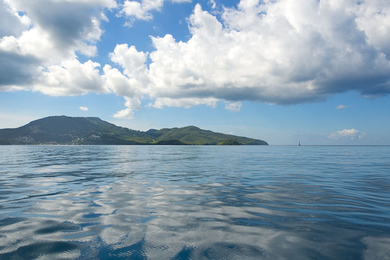 Fort de France bay - Martinique tropical island, Caribbean sea Antilles Bay Beauty In Nature Bout Caribbean Caribbean Sea Cloud - Sky Day Fort-de-France Hi Martinique Mountain Nature No People Outdoors Point Pointe Du Bout Scenics Sea Sky Tranquil Scene Tranquility Tropic Tropical Water