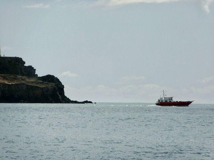 Island ferry Ferry Ferryboat Cliffs Calm Sea Blue Sea Blue Sky Celtic Sea Atlantic Ocean West Cork Wildatlanticway Ireland