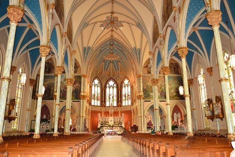 St. John The Baptist Cathedral Savannah Savannah Cathedral Church Architecture Architecture_collection Amazing Architecture