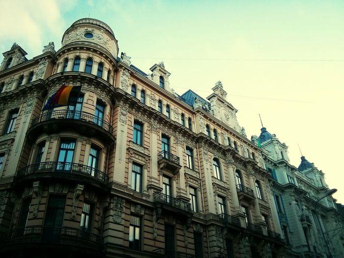 Riga Latvia Riga Eisenstein Arhitecture Modern Architecture