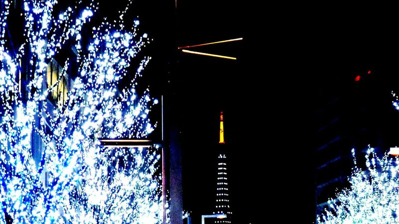 東京タワーとイルミネーションを見に一人で六本木ヒルズに♬綺麗だったなぁ✨ 東京タワー 東京タワー🗼 東京タワー派 けやき坂 けやき坂イルミネーション Tokyo Tower Keyakisaka Illumination