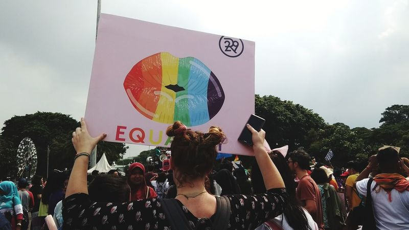 Women's March 2018 Jakarta #2 INDONESIA Shootermag Outdoors Girl Power Girl Equality Equality For All Feminist Feminism Feminist Protest Feminist, Women, Revolution, Freedom Lgbt Queer Poster Protest Women's March Women's March Jakarta GenderEquality EyeEmNewHere This Is Masculinity