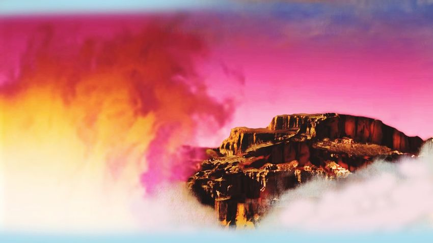Mountain Panorama Mauntains In The Background Mountain Climbing Clouds Tree Sunset Winter Mountain Power In Nature Water Sea Multi Colored Illuminated Sky
