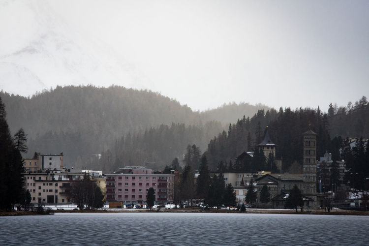 st. moritz in the winter Graubünden Ice St. Moritz Winter Alps Architecture Black Black Ice Building Exterior Built Structure Day Europe Lake Mountains Nature No People Outdoors Sky Snow Switzerland Town Travel Destinations Tree Water White Perspectives On Nature Shades Of Winter