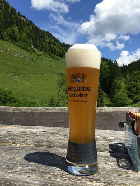 Beauty In Nature Beer Drink König Ludwig Mountain View Refreshment Weissbier