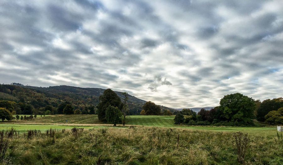 Impressions of Scotland Cloud blanket seen over the countryside in the Scottish Highlands Beauty In Nature Cloud - Sky Cloudy Countryside Landscape Landscape_Collection Landscape_photography Nature Scotland Sky Tranquility Tree