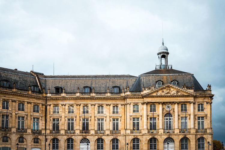 Architecture Building Exterior Built Structure Capital Cities  City City Life Cloud Cloud - Sky Cloudy Day Dome Façade High Section Historic Low Angle View No People Outdoors Overcast Sky Tourism Travel Destinations