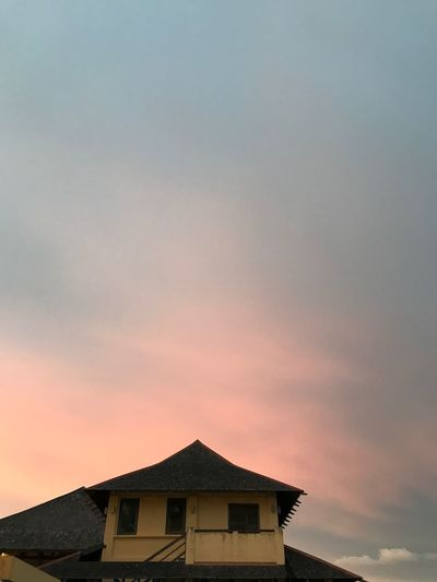 Built Structure Architecture Building Exterior Sunset House Roof Sky No People Beauty In Nature Outdoors Nature Day EyeEm Selects Sarawak Borneo
