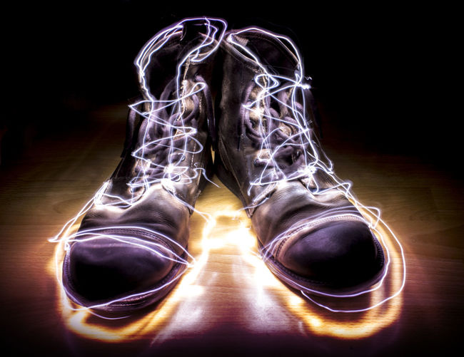 Shiny New Boots