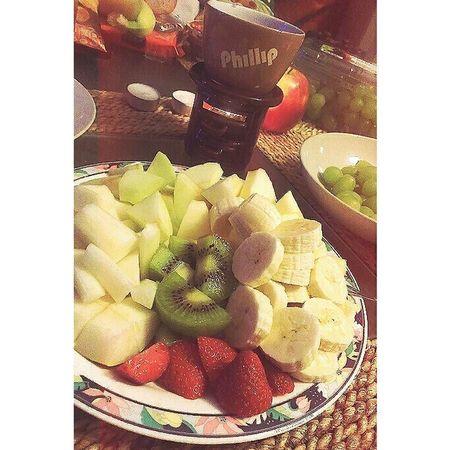 ???? Schokofondue Früchte Leckerschmecker Great Time  Loveofmylife
