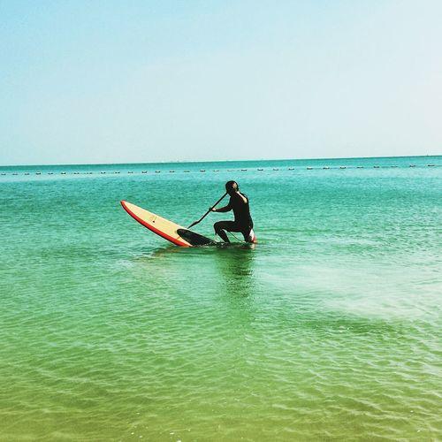 Sup Beachphotography Enjoying Life Enjoying Myself Intercontinental Doha