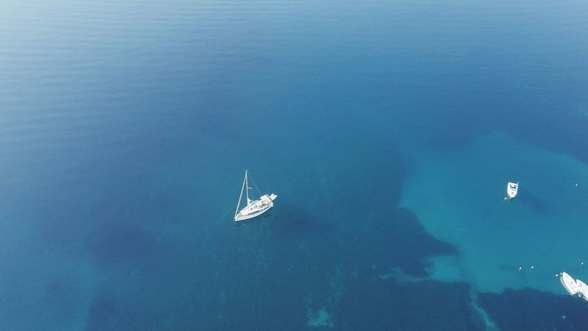 Aerial View Aerial Shot Aerial Photography Aerial Photography Aerial Seascape Lefkada, Greece Vacation Time Holiday Sea And Sky Vacation The Week on EyeEm Water Sea Nautical Vessel Flying UnderSea Swimming Sailing Sky Sailboat Calm Lakeside Yachting