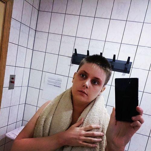 Fresh out of the shower feel Ftm Femaletomale Ftmsofig Ftmofig ftmtransition transgendertransgenderofig fckh8 noh8 livequal lgbtqlgbt instagay instacute instahomoinstastud homosexual gayman gayselfmade pret stud