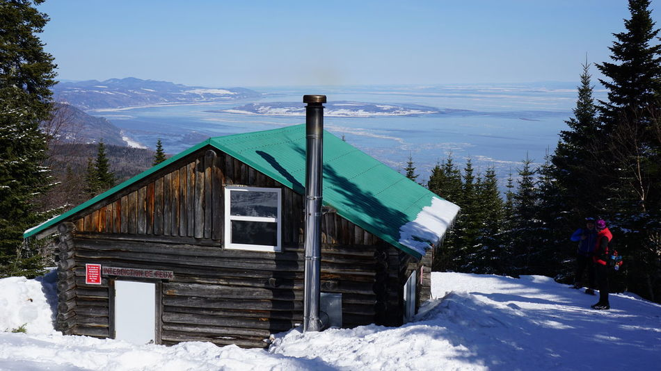 Beauty In Nature Charlevoix Cold Temperature Crosscountry Skiing Log Cabin Mountain Nature Outdoors Quebec Snow Tourism Travel Travel Destinations Winter Winter Wonderland