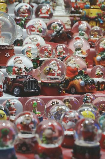 Santa baby Large Group Of Objects Full Frame Christmas Decoration No People Christmas Market Christmas Wish List Gift Ideas Illuminated Children At Play Presents Toys EyeEm Best Shots Best Time Of The Year Winter Vibrant Color Celebration Always Be Cozy Advent Season Close-up Snowflake Round Objects Snow Globe Snowballs Santa