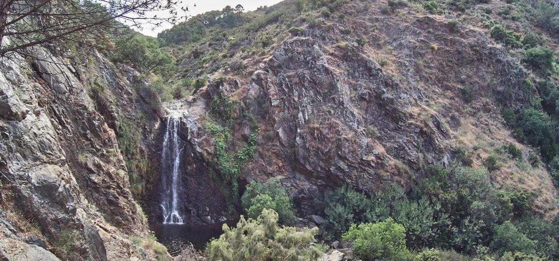 Parque Nacional Sierra De Las Nieves Balneario De Tolox Charca De La Virgen Charco De La Virgen Río Caballos Sendero De Las Cascadas Tolox