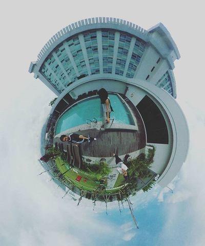 🛌 Mercure Palu Hotel. Theta360 Theta360contest Ricoh LittlePlanet Ricohthetas