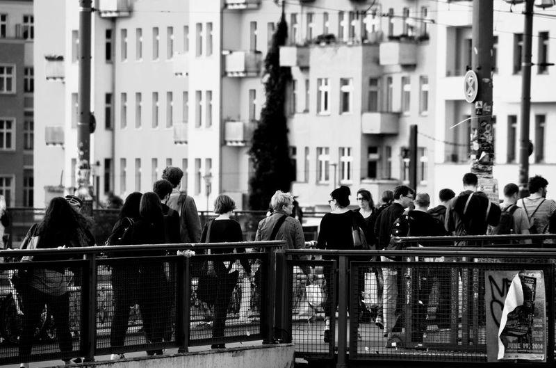 Don't stop Monochrome EyeEm Best Shots - Black + White People The Street Photographer - 2014 EyeEm Awards